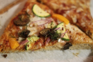 Pizza Slice with Toppings